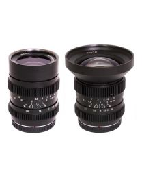 SLR Magic Bundle 10mm T2.1 (MFT) Lens + 25mm T0.95 (MFT) Lens