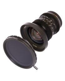 SLR Magic HyperPrime CINE 10mm T2.1 (MFT Mount) + 77mm Variable ND II Filter