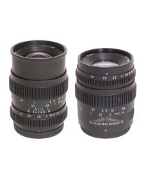 SLR Magic CINE 17mm T1.6 (MFT) Lens + 35mm T1.4 (MFT) Lens
