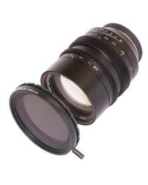 SLR Magic HyperPrime CINE 50mm T0.95 (MFT Mount) + 62mm Variable ND II Filter