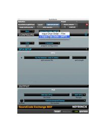 Neyrinck SoundCode Exchange MXF Plugin