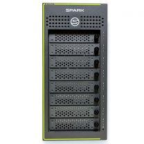 Symply SymplySPARK Desktop 8-Bay Thunderbolt 3 RAID 144TB inc Hard Case