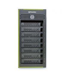 Symply SymplySPARK XT Desktop 8-Bay Thunderbolt 3 RAID 112TB inc Hard Case