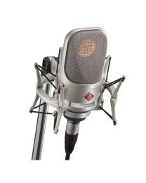 Neumann TLM 107 Condenser Microphone Studio Set (Nickel)