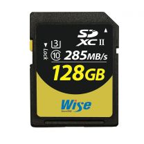 Wise SDXC UHS-II Memory Card 128GB