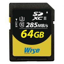 Wise SDXC UHS-II Memory Card 64GB