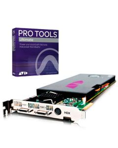 Avid Pro Tools HDX Card with Pro Tools Software box