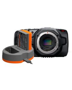 Blackmagic Design Pocket Cinema Camera 6K (Body Only) with Spare Battery &  Charger Kit