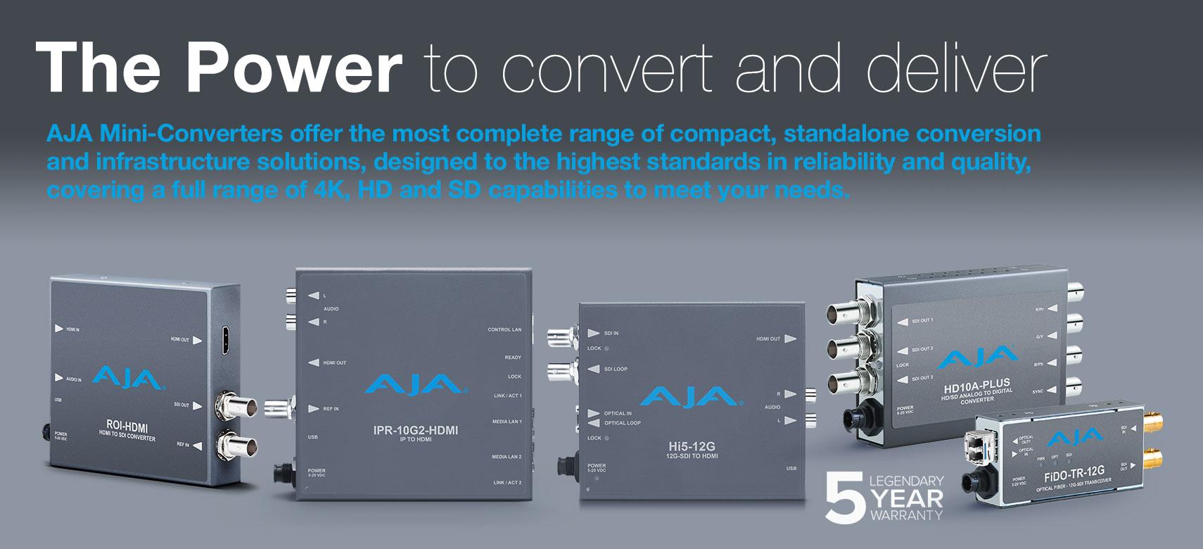 AJA Mini Converters