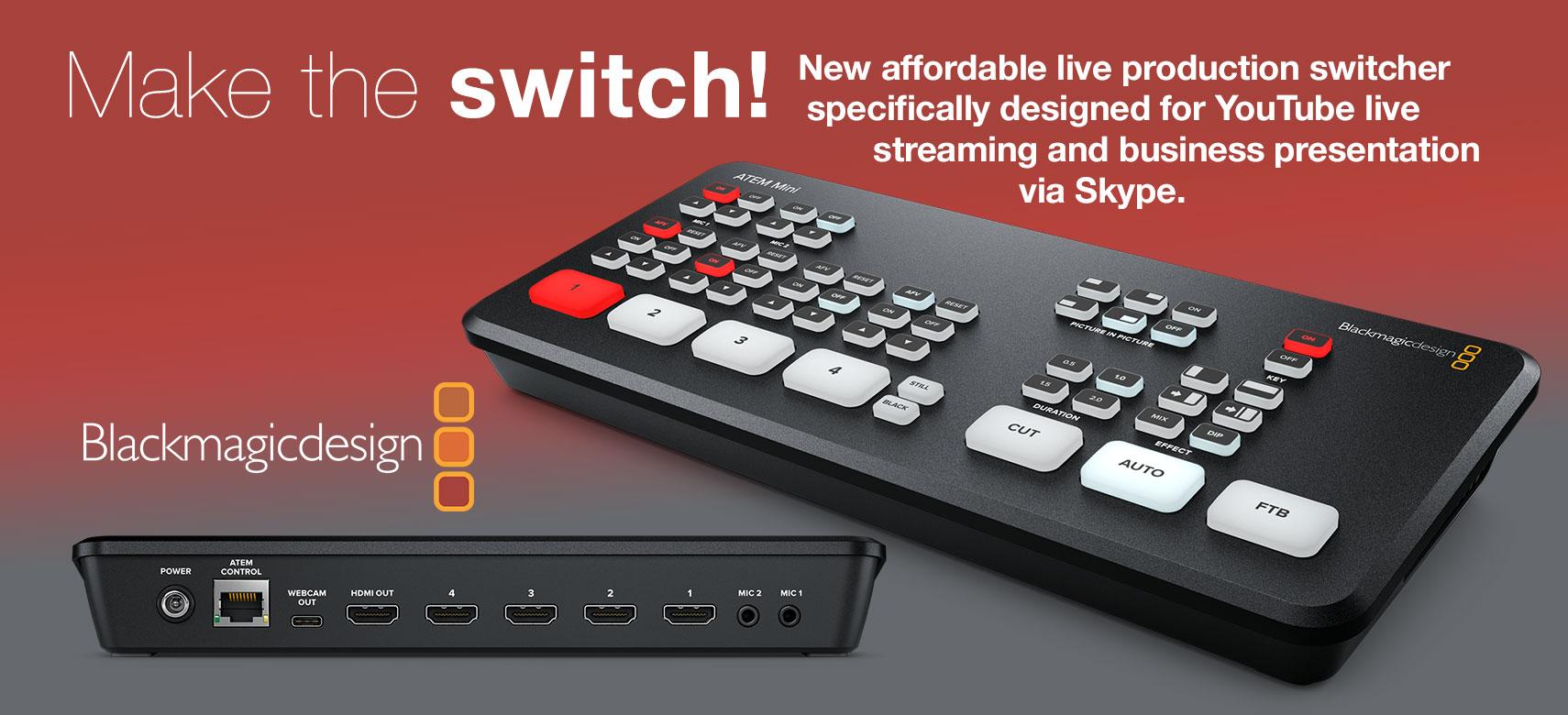 BMD ATEM Switcher