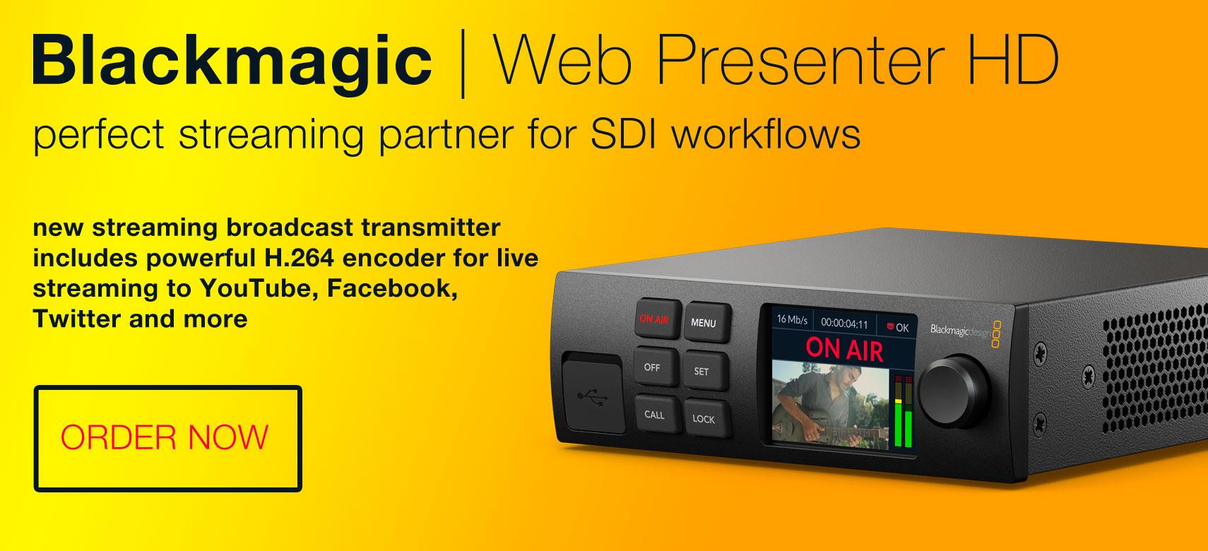 BMD Web Presenter HD