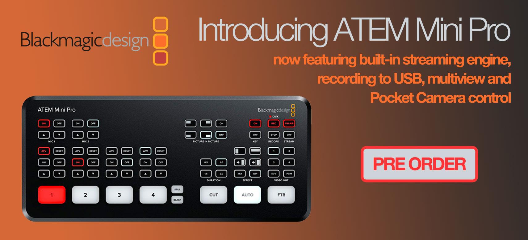 BMD ATEM Mini Pro