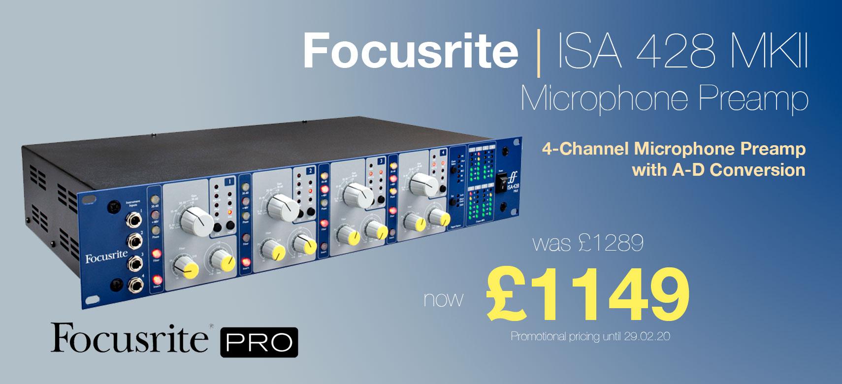 Focusrite ISA 428 MKII Revised 1