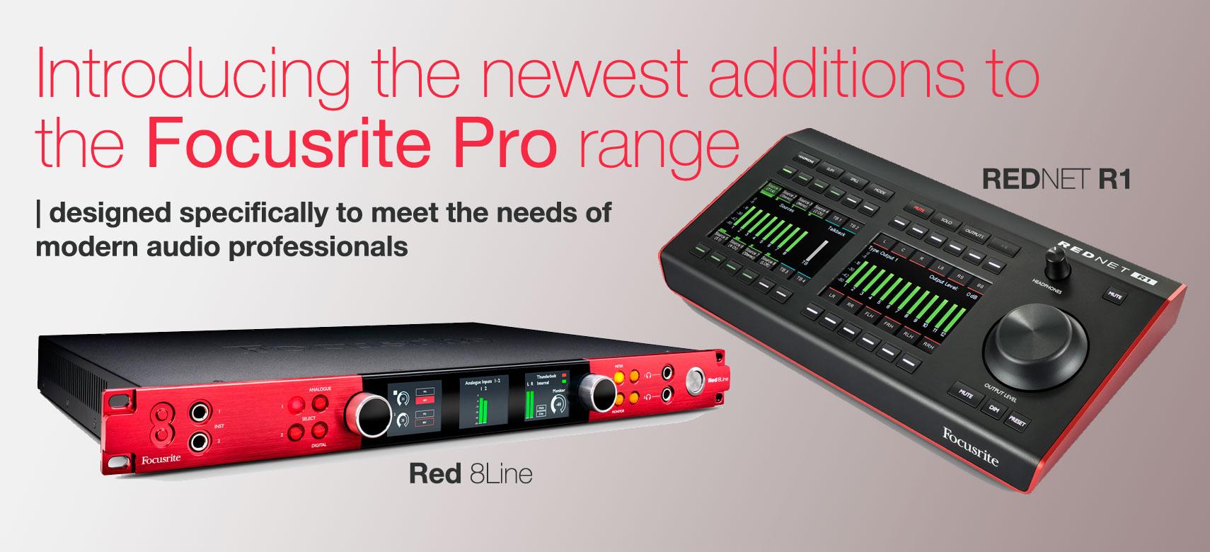 Focusrite Pro Red 8Line & R1