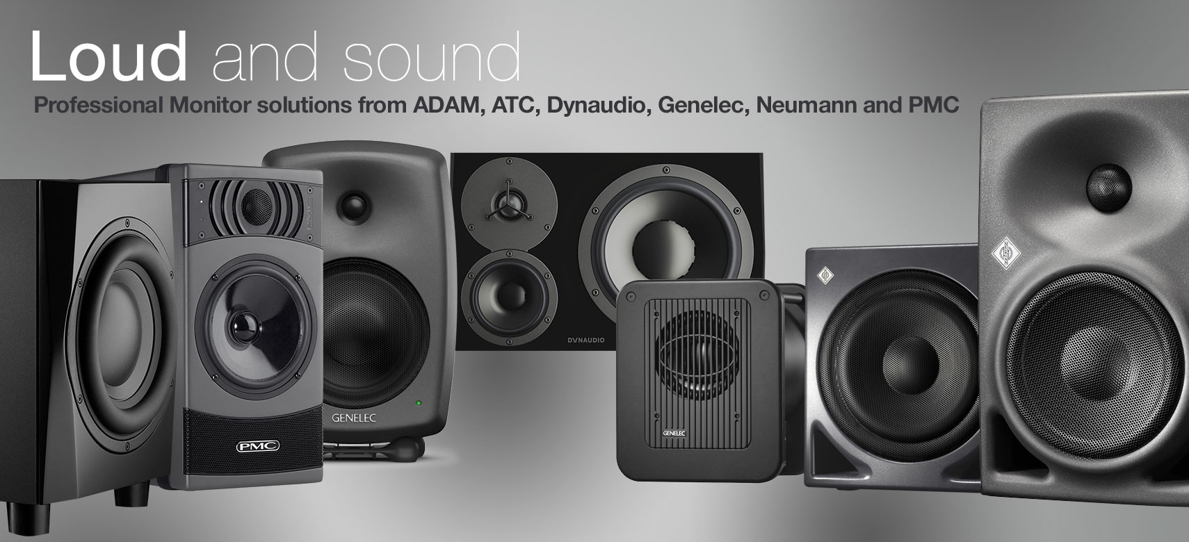 Loud & Sound Monitors