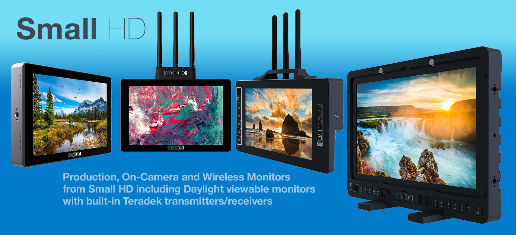 Small HD Monitors