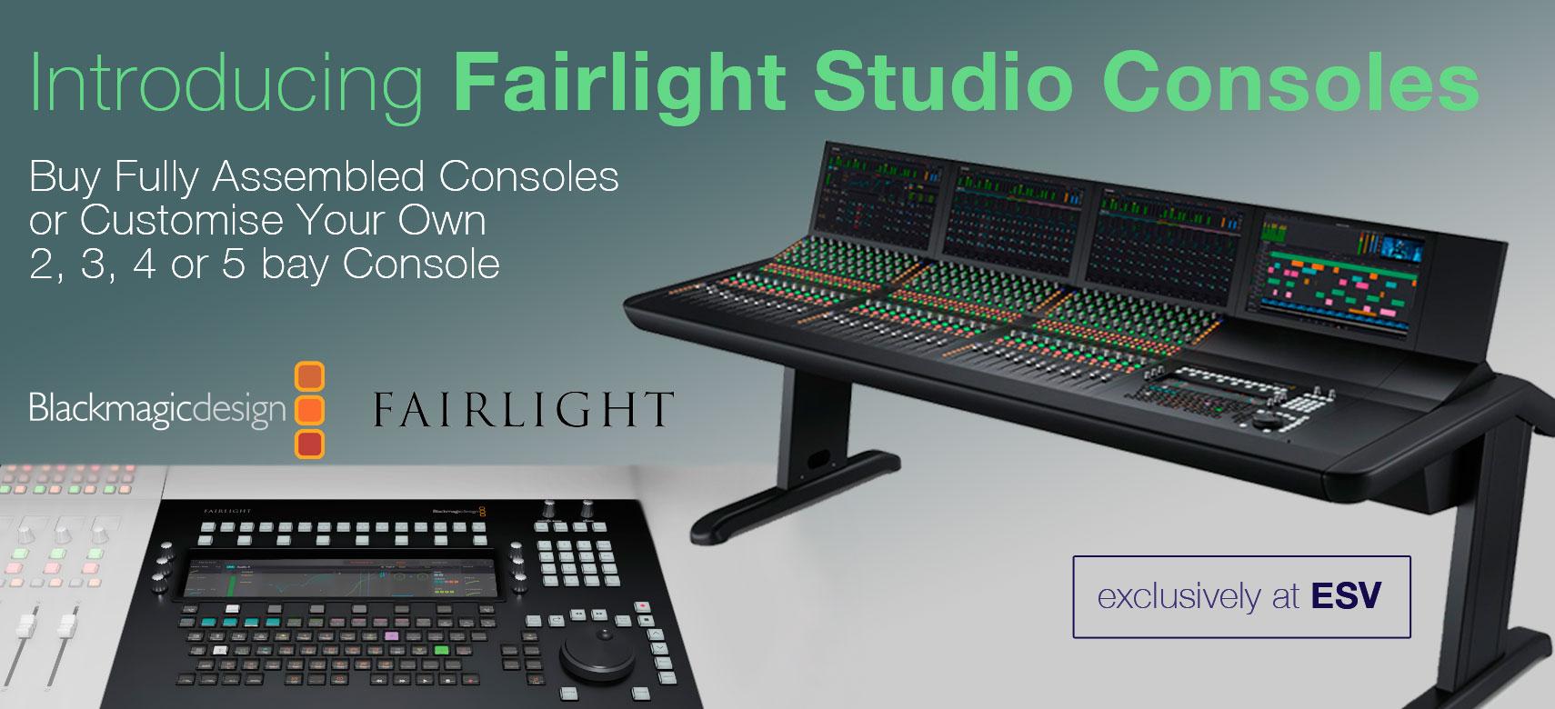 BMD Fairlight Studio