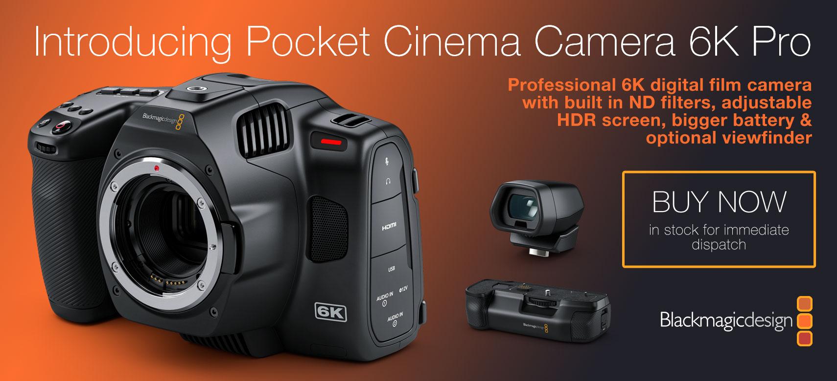 BMD Pocket 6K Pro