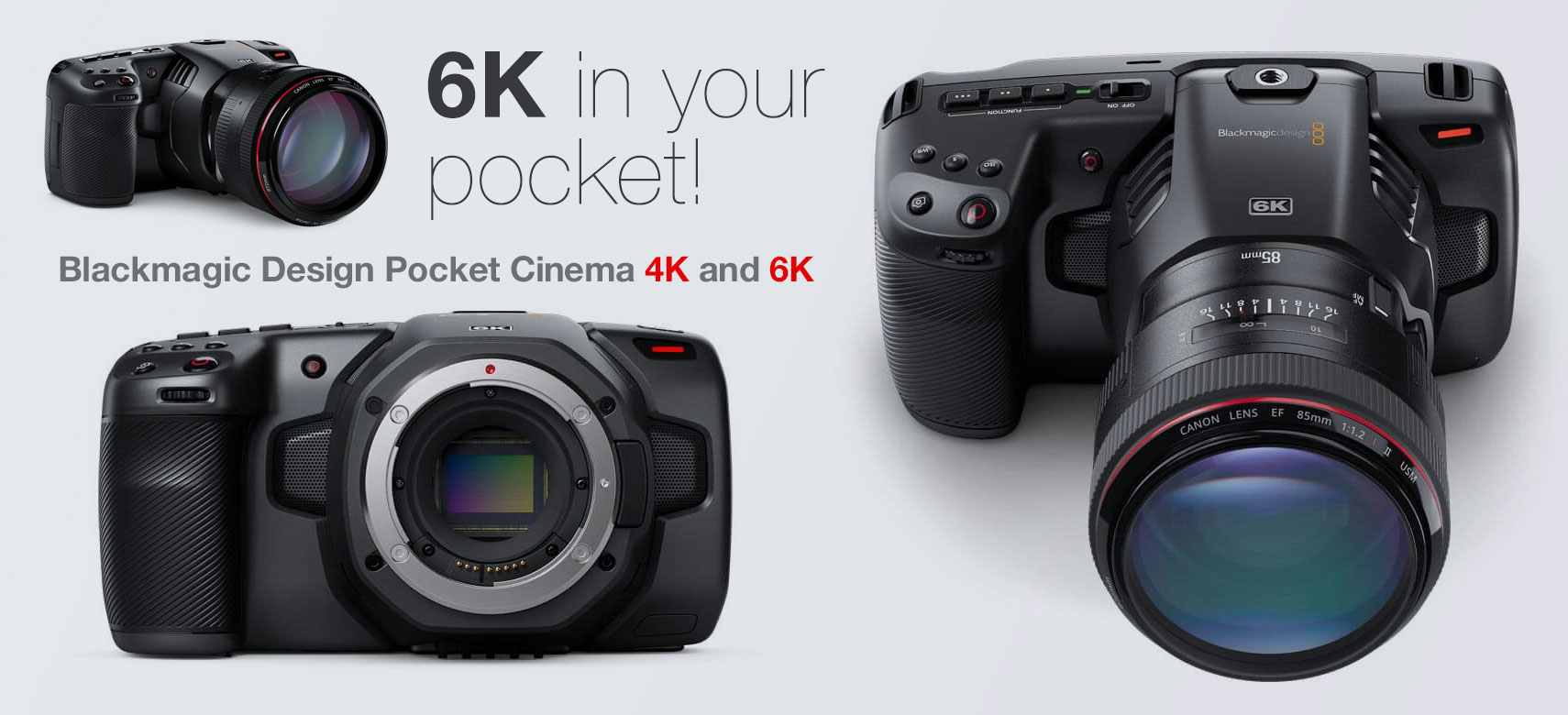 Blackmagic Pocket Cameras