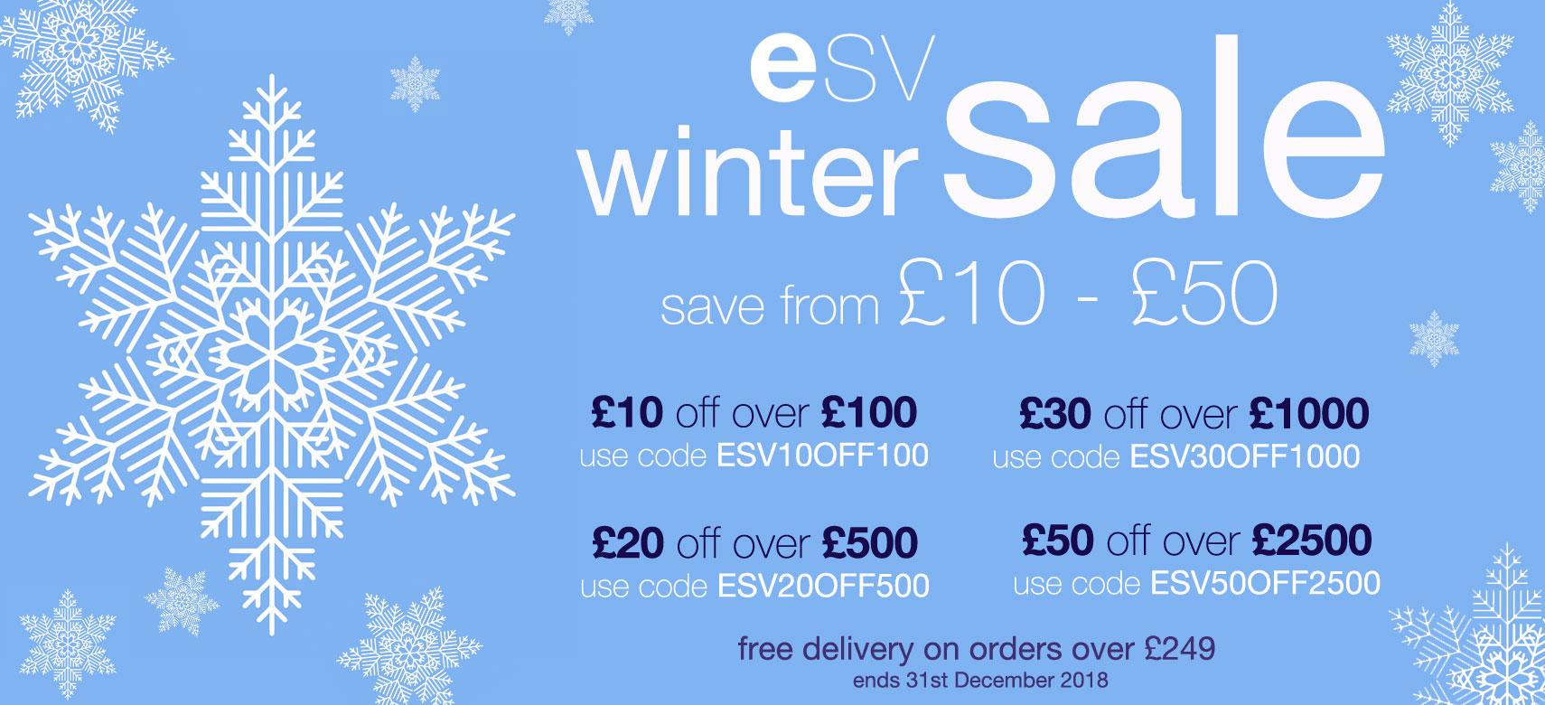 ESV Winter Sale